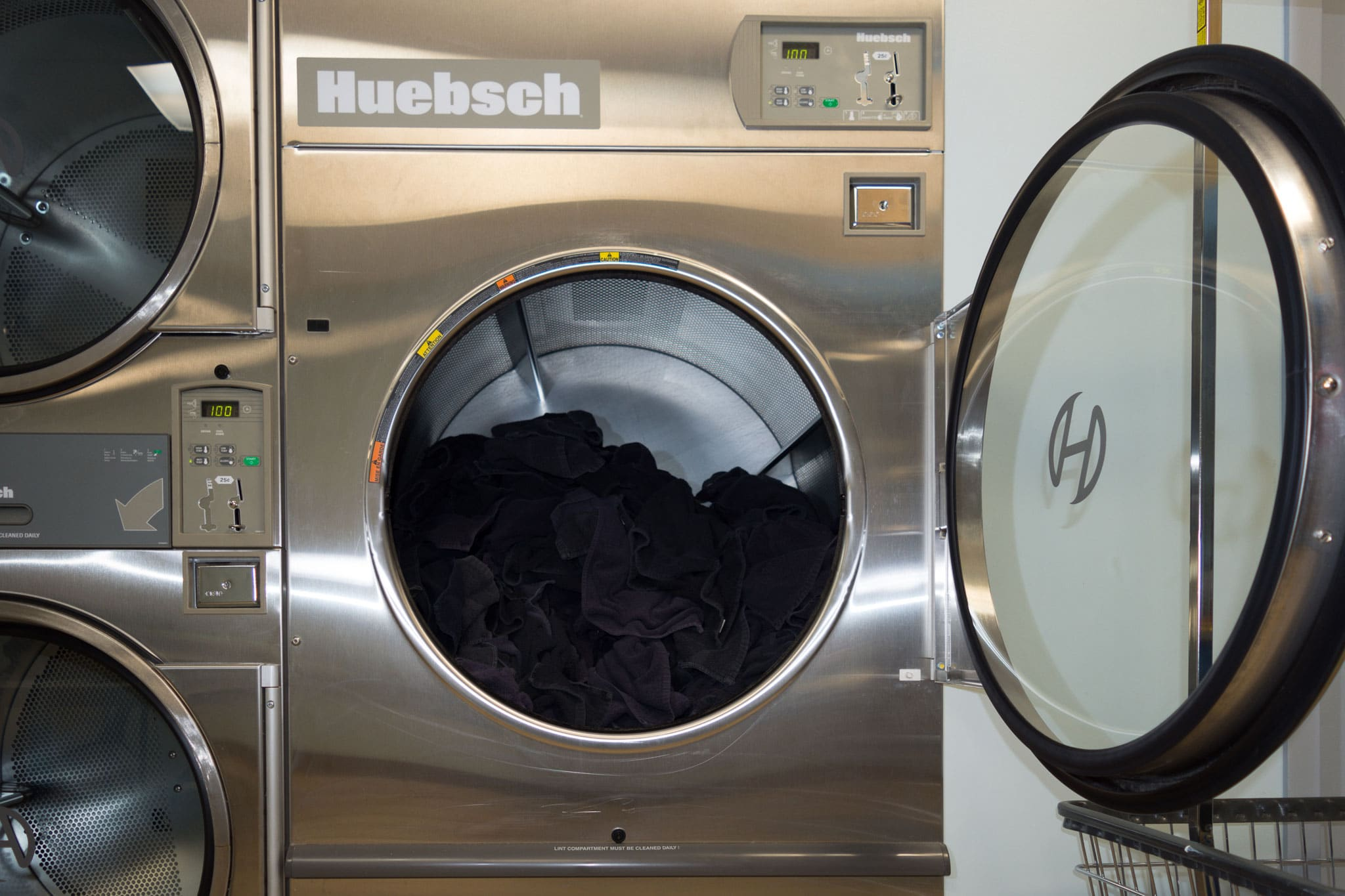 Huebsch commercial laundromat dryer toronto